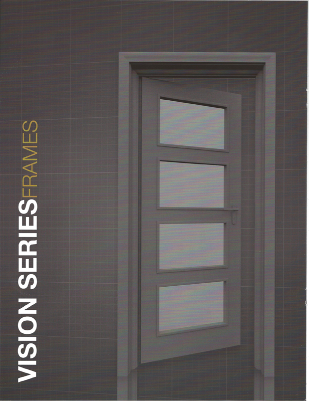Steel Doors And Frames : Door frame residential metal frames