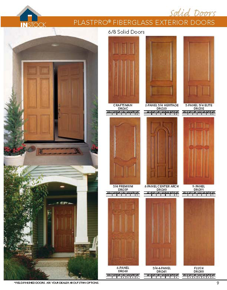 Bhi Exterior Door Catalog