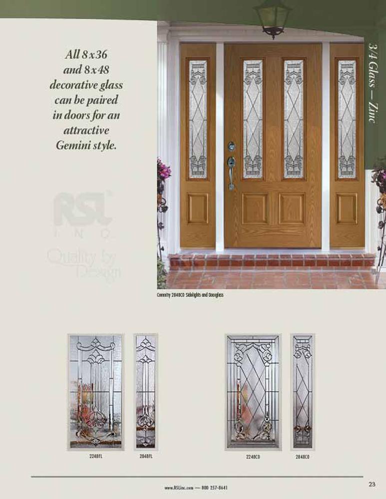 Rsl Doorglass Decorative And Impact