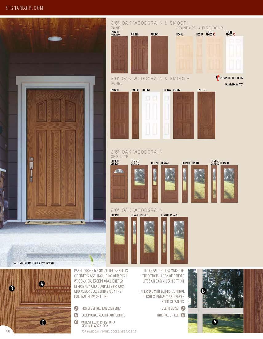 Door Catalog Molded Doors Brochure S Le