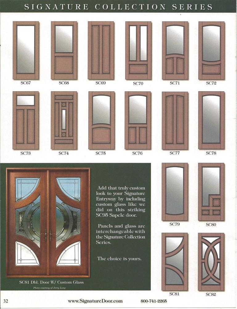 Signature Door Decorative Entryways
