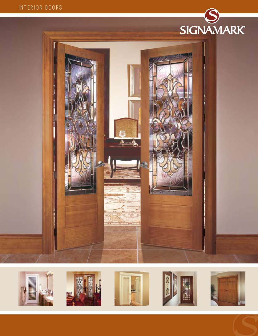 Door catalog click to enlarge image signamark for Door design catalog